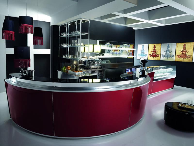 Comptoirs de bar mobilier c h r for Arredamenti bar milano